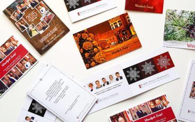 Kartki świąteczne dla firmy