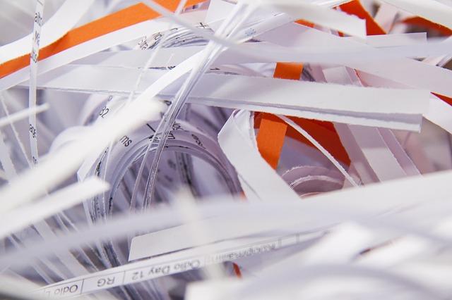 Niszczarka dokumentów dla kancelarii